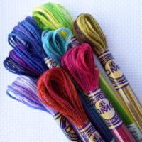 DMC Cotton Colour Variations