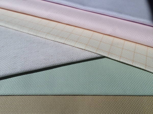 What is the difference between Aida, Evenweave (Lugana) & Linen